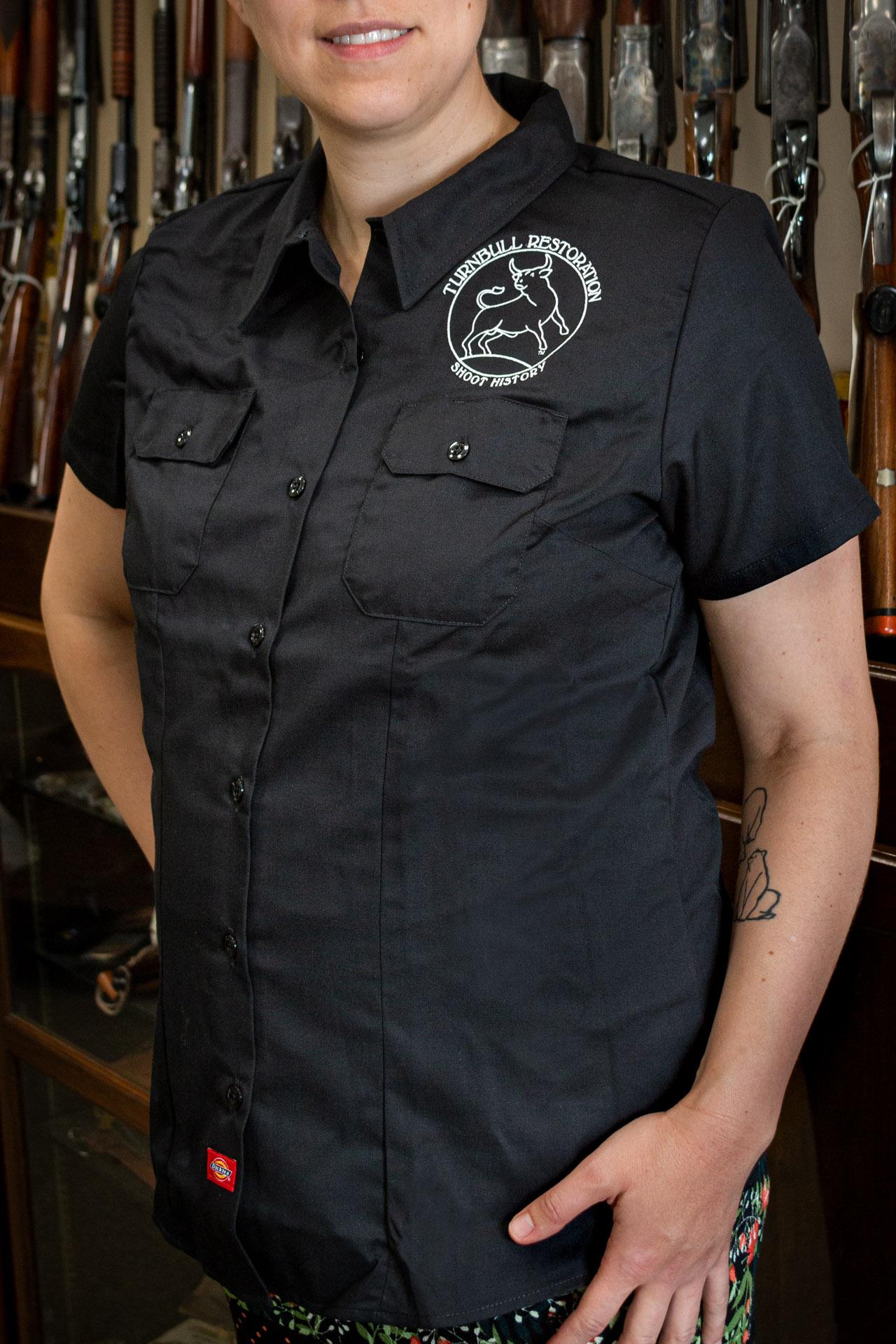 Photo of a Turnbull Restoration Dickies work shirt