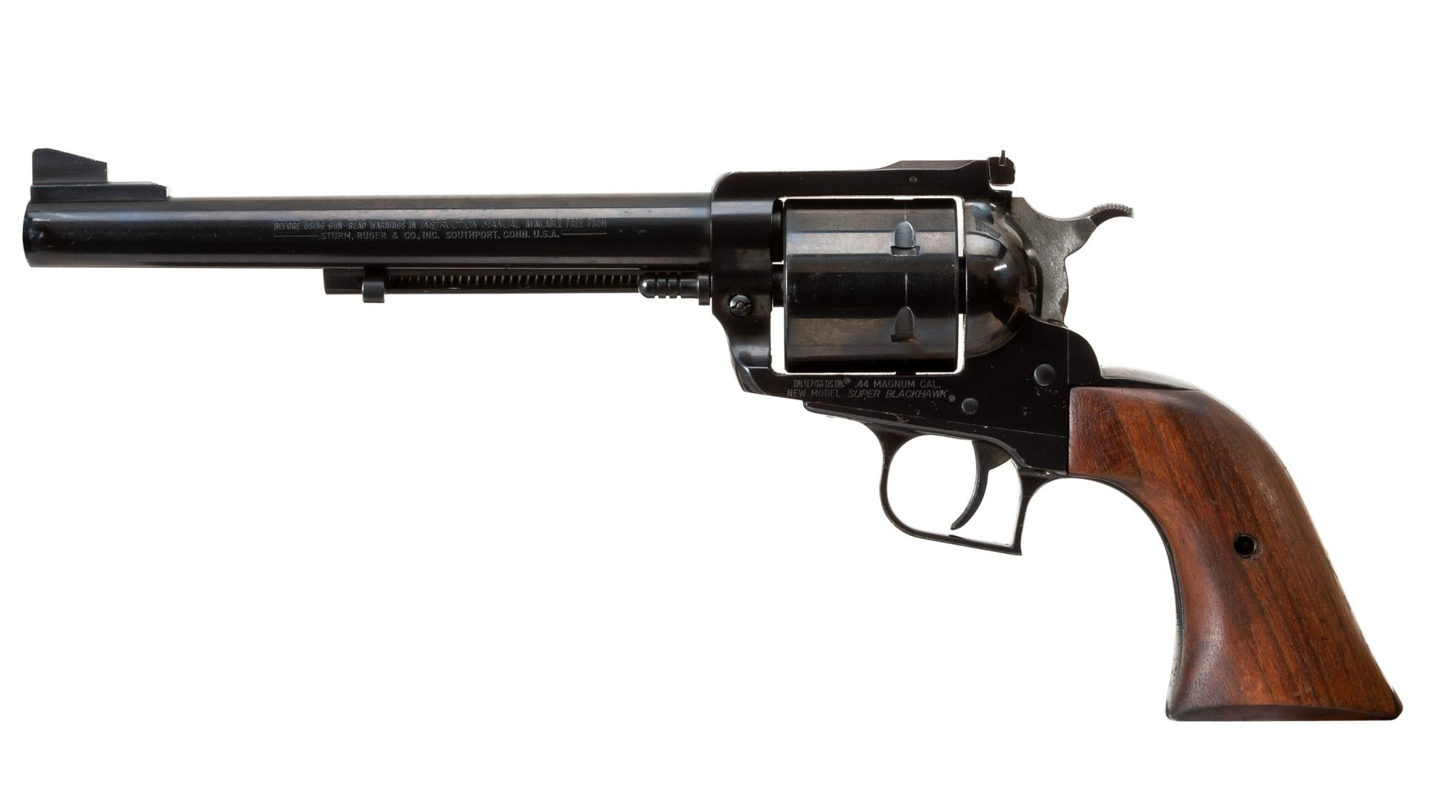 Photo of a pre-owned Ruger New Model Super Blackhawk, for sale as-is by Turnbull Restoration of Bloomfield, NY