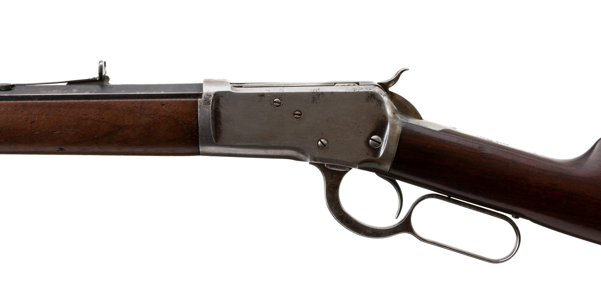 Photo of a pre-owned Winchester Model 1892 from 1904, for sale by Turnbull Restoration of Bloomfield, NY