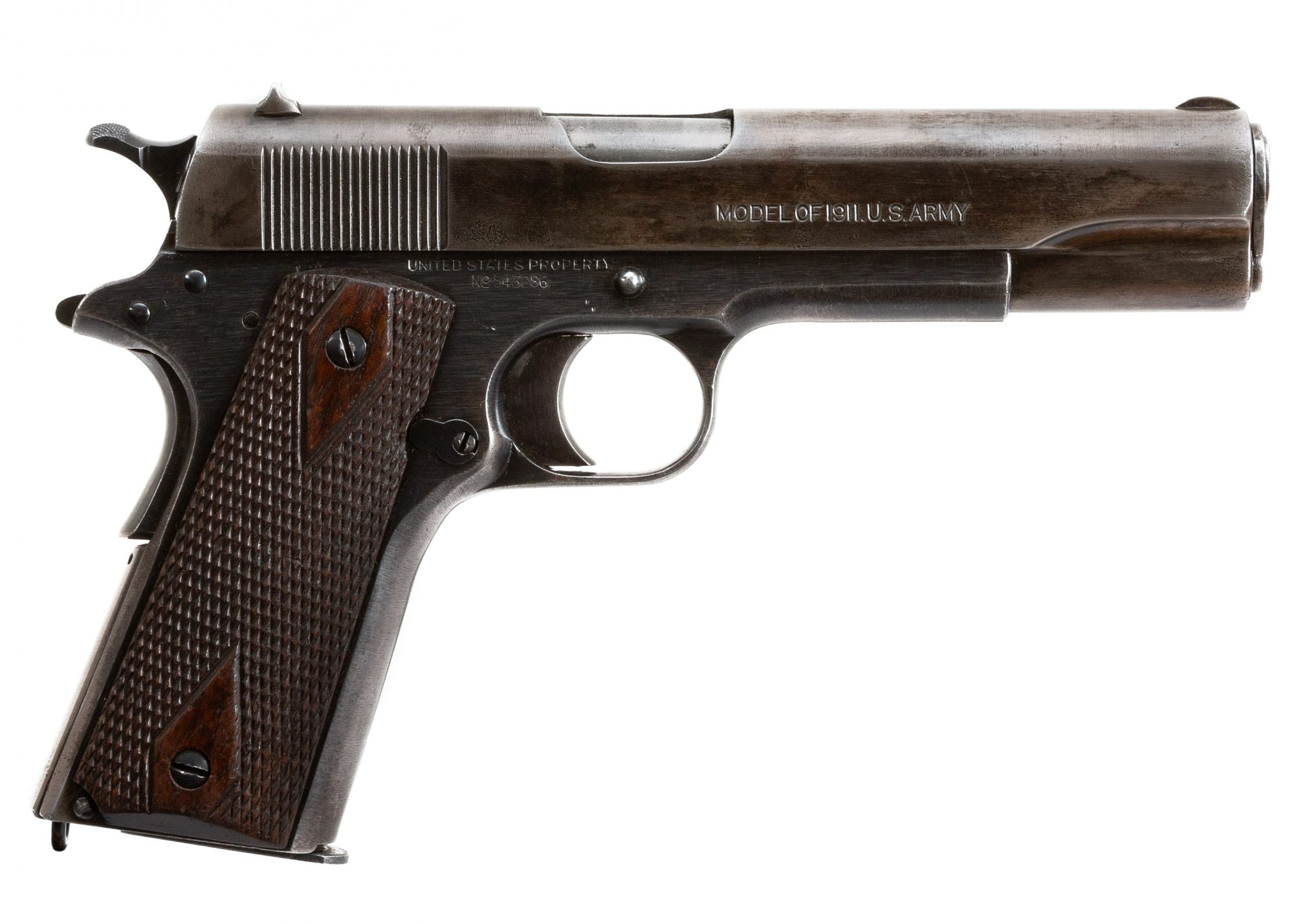 Photo of a pre-owned Colt Model 1911 from 1918, for sale by Turnbull Restoration of Bloomfield, NY