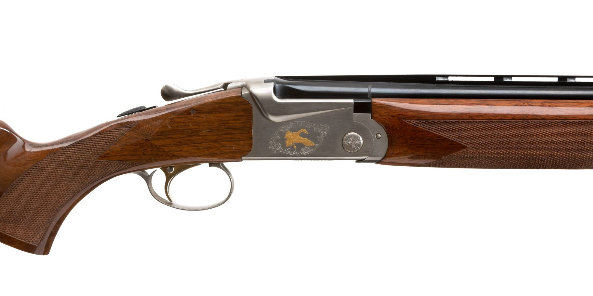 Photo of a pre-owned SKB Model 585 Field Gold Package, for sale as-is by Turnbull Restoration of Bloomfield, NY