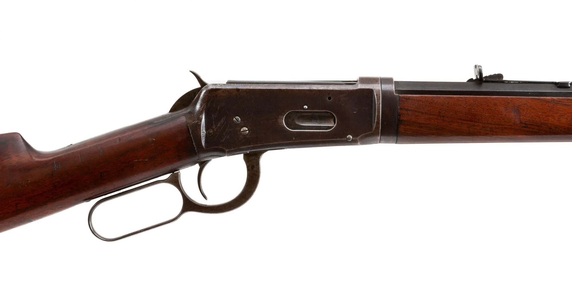 Photo of an antique Winchester 1894 from 1895, for sale by Turnbull Restoration of Bloomfield, NY