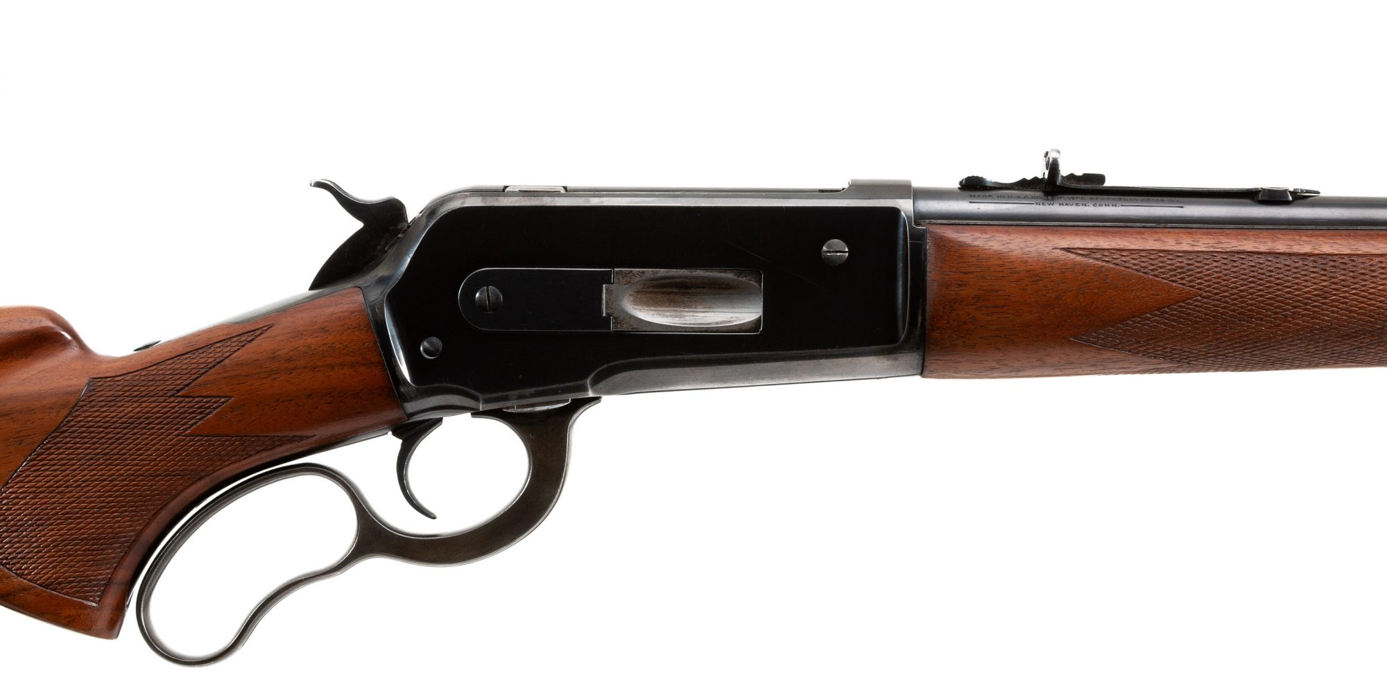 Photo of a pre-owned Winchester Model 71 from 1941, for sale by Turnbull Restoration of Bloomfield, NY