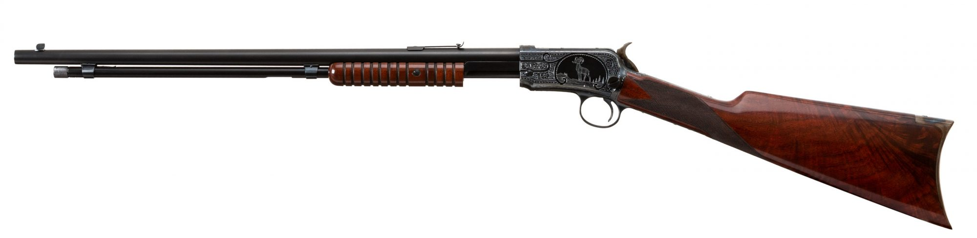 Photo of a restored and upgraded Winchester Model 1906, by Turnbull Restoration of Bloomfield, NY