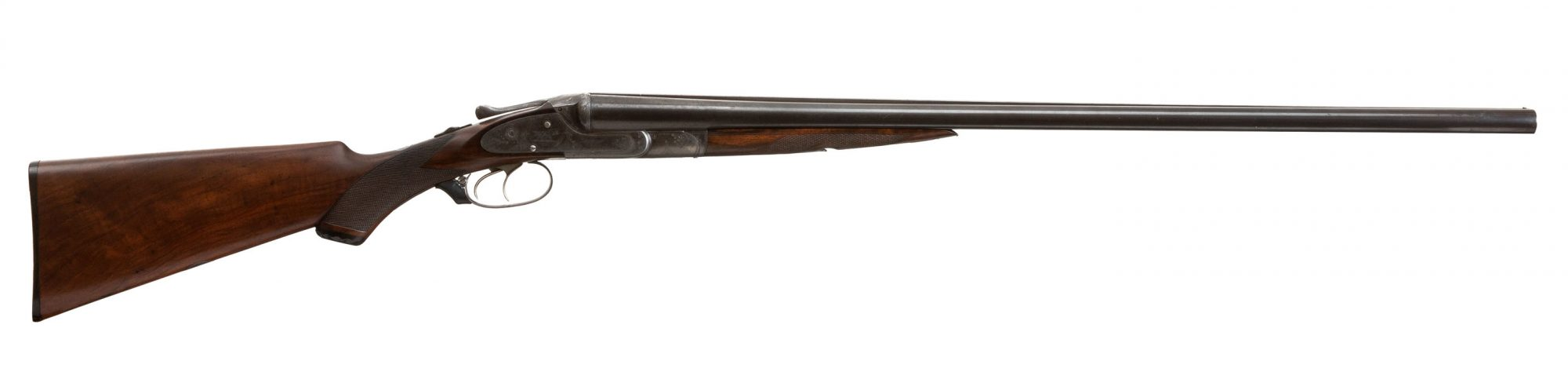 Photo of a pre-owned Lefever EE grade 16 gauge side by side shotgun, for sale as-is by Turnbull Restoration of Bloomfield, NY