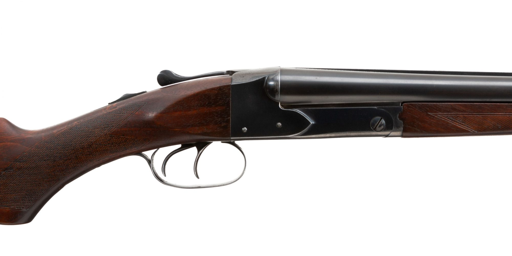 Photo of a pre-owned Winchester Model 21 20 gauge side by side shotgun, for sale as-is by Turnbull Restoration of Bloomfield, NY