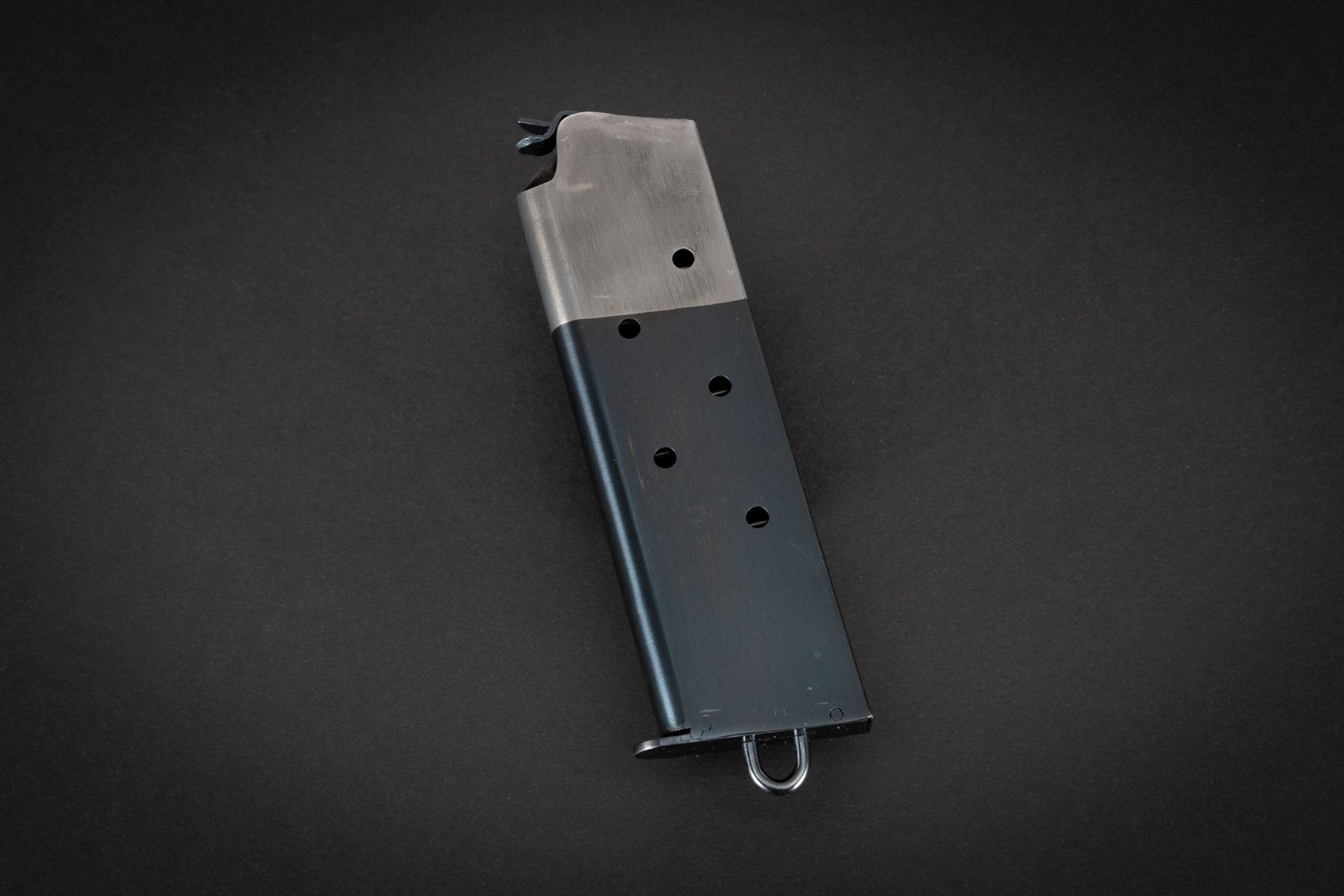 Photo of a restored Colt 1911 magazine, by Turnbull Restoration of Bloomfield, NY
