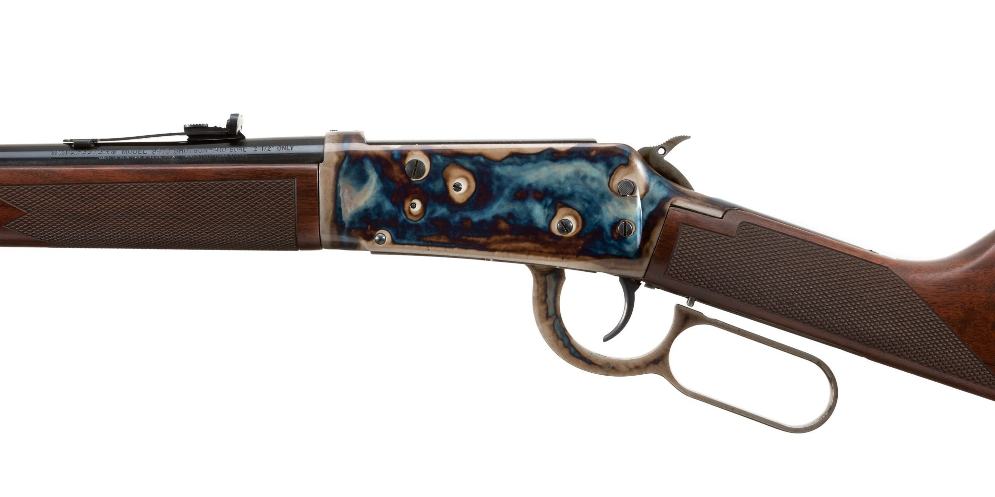 Photo of a Turnbull-finished Winchester Model 9410, for sale by Turnbull Restoration of Bloomfield, NY