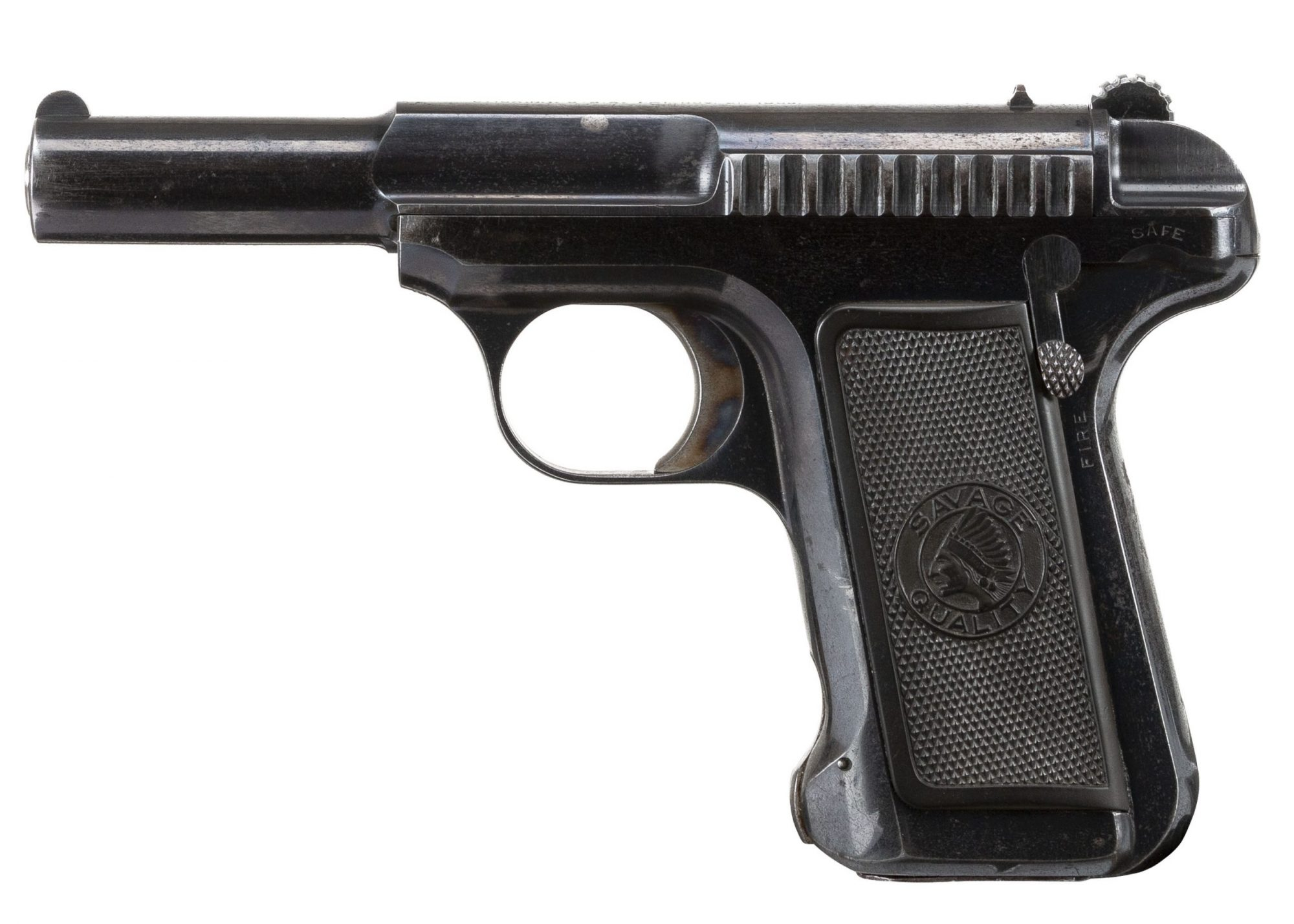 Photo of a Savage Model 1907 in .32 ACP, for sale by Turnbull Restoration of Bloomfield, NY