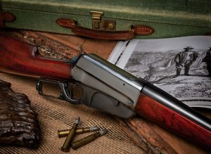 Photo of a restored Winchester Model 1895. Restoration work performed by Turnbull Restoration Co. of Bloomfield, NY