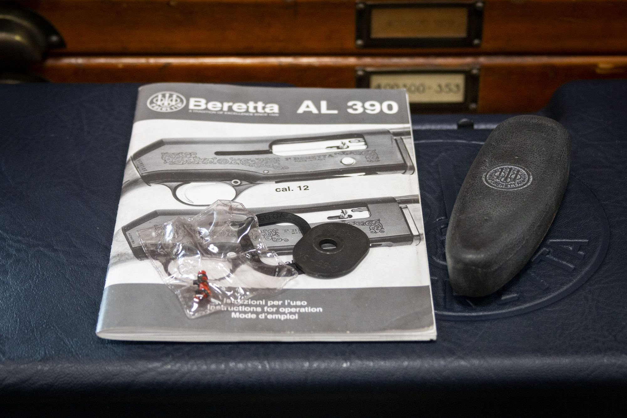 Photo of pre-owned Beretta AL390 Diamond Sporting 12 gauge shotgun extras, for sale by Turnbull Restoration of Bloomfield, NY