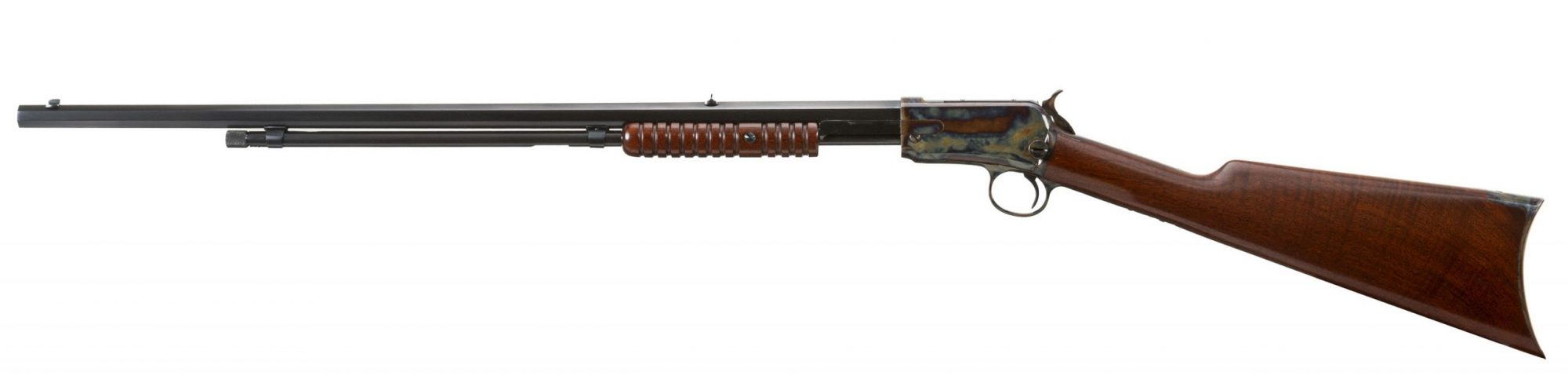 Photo of a Winchester Model 1890 from 1895, restored by Turnbull Restoration in 2007