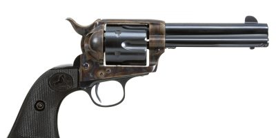 Photo of a Colt Single Action Army Revolver from 1899, restored by Turnbull Restoration Co. in 2000