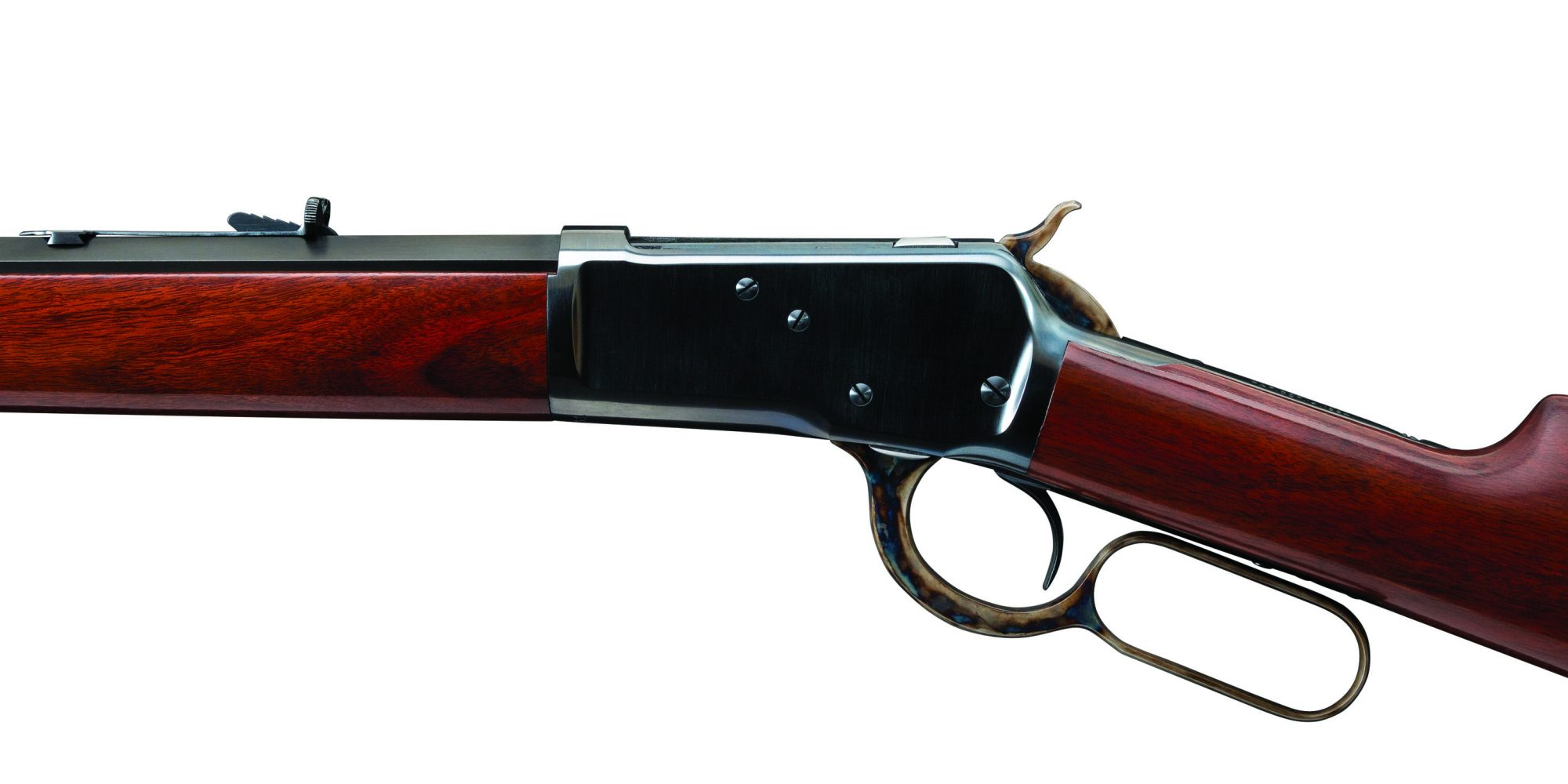 Photo of a restored Winchester Model 1892 from 1900, restored in 2019 by Turnbull Restoration Co. of Bloomfield, NY
