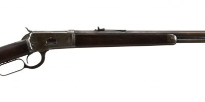 Photo of a Winchester 1892 from 1904, for sale by Turnbull Restoration of Bloomfield, NY