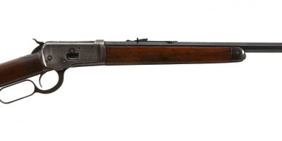 Photo of a Winchester 1892 from 1918, for sale by Turnbull Restoration of Bloomfield, NY
