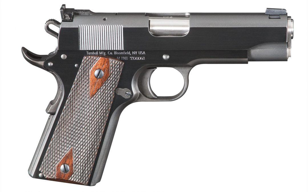 Turnbull Announces Limited 2014 Turnbull Commander Custom 1911 .38 Super Pistol