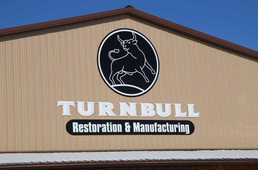 Turnbull Restoration & Manufacturing Gets A New Sign